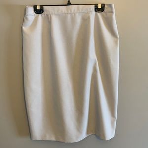 🥰2/40🥰 Soft grey pencil skirt size xl